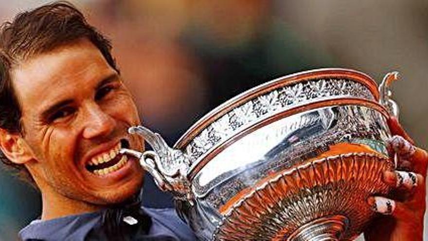 Rafa Nadal venç Thiem   i aconsegueix el seu  dotzè Roland Garros