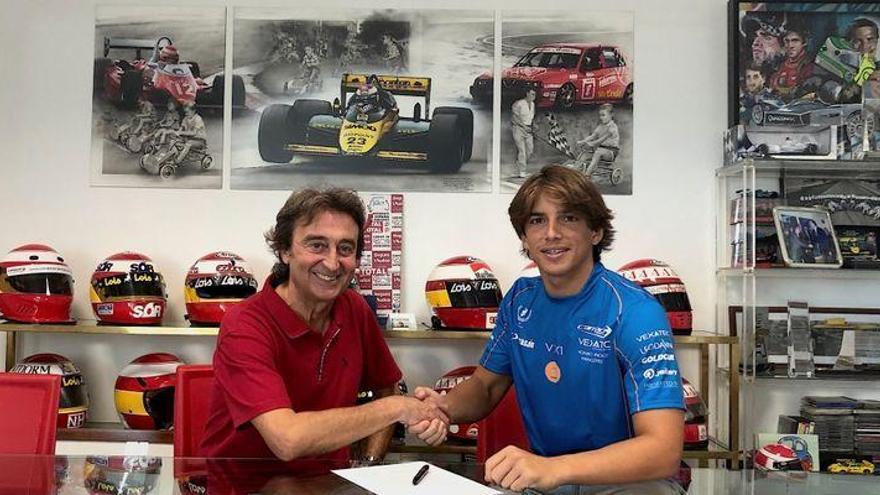 Merhi regresa a la Fórmula 2 de la mano de Campos Racing