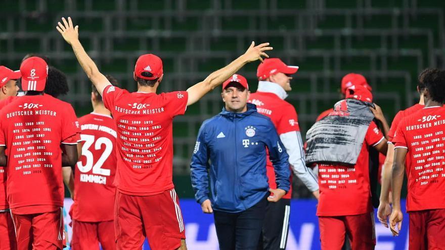 El Bayern conquista la liga alemana por octava vez consecutiva