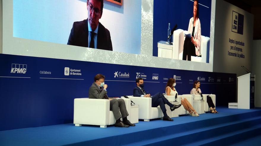 Armengol, Puig, Feijóo i Moreno coincideixen que cal abordar la reforma del sistema de finançament autonòmic