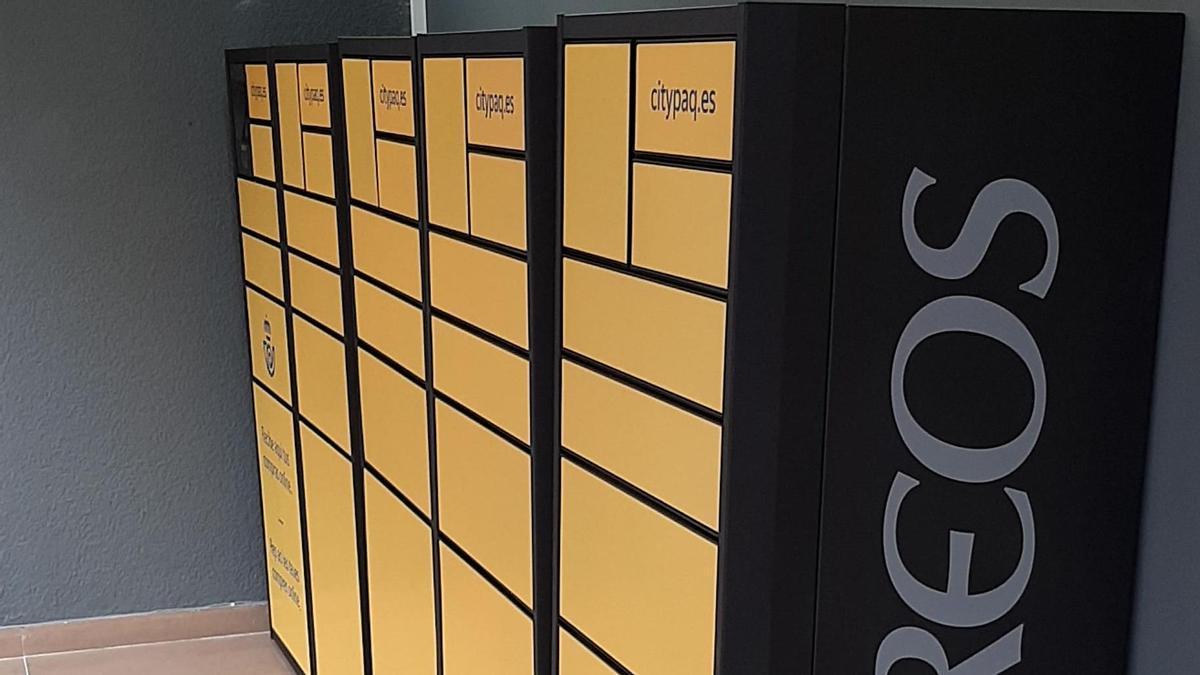 Nuevo citypaq en la oficina de correos de Alfafar-Benetússer.