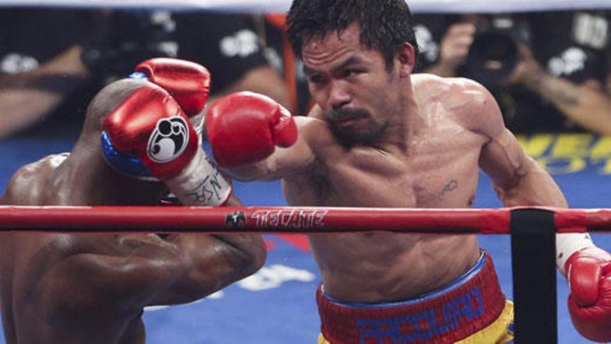 "Pacquiao: ""Gané la pelea, Mayweather no hizo nada"""