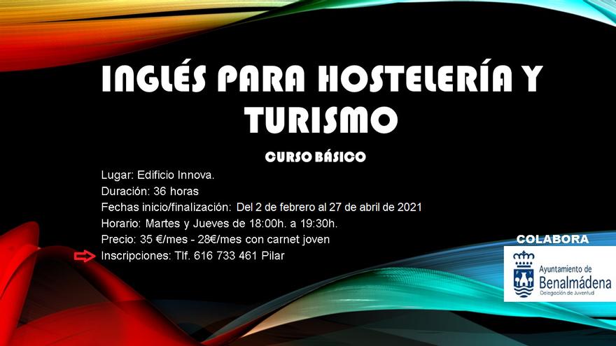 Inglés para hostelería y turismo