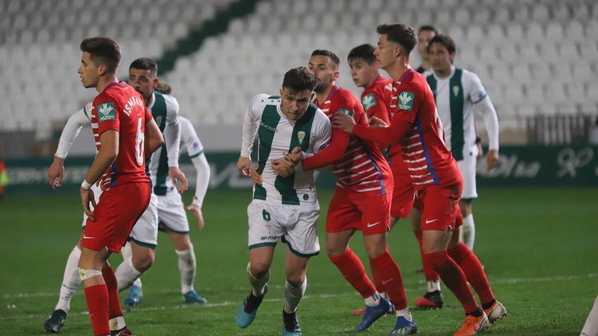 El Córdoba CF se reencontrará con el Recreativo Granada.
