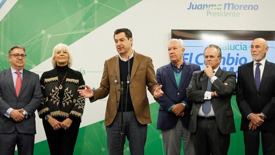 Juanma Moreno celebra su primer aniversario como presidente de la Junta