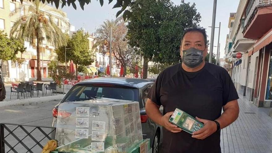 Un vecino de La Carlota gana 'La Paga' de la ONCE: 3.000 euros al mes durante 25 años