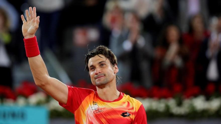 Ferrer dice adiós al tenis tras caer ante Zverev en Madrid