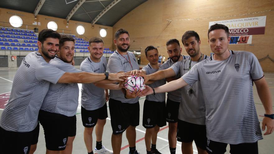 El Córdoba Futsal y detrás todos los demás