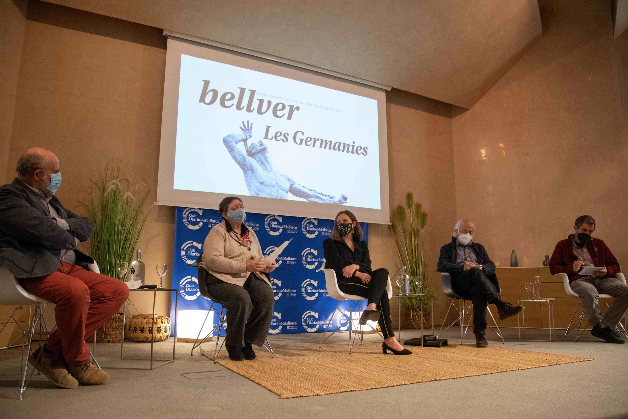 Taula Rodona '500 Germanies' Al Club