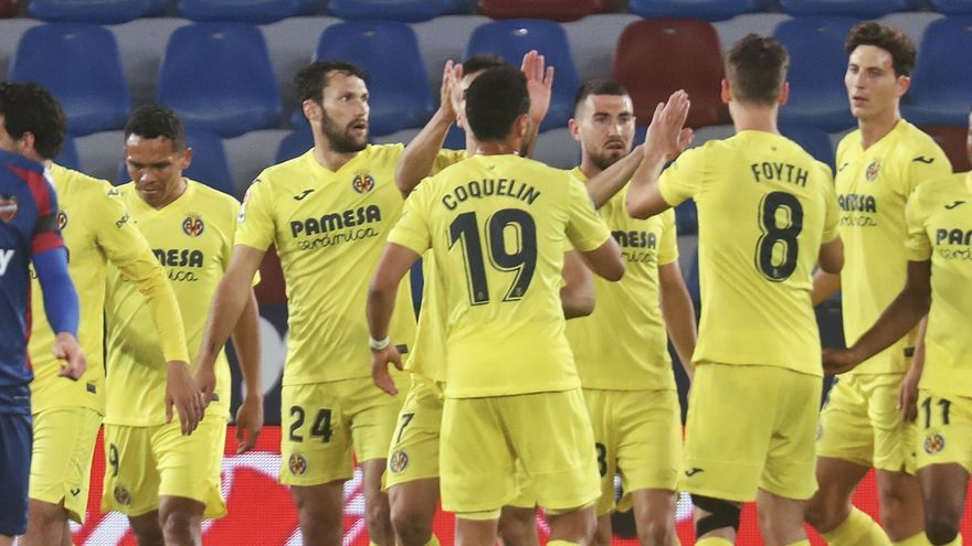 El Villarreal somete al Levante