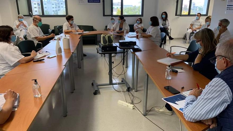El Hospital de Manacor prohíbe visitas y acompañantes de pacientes