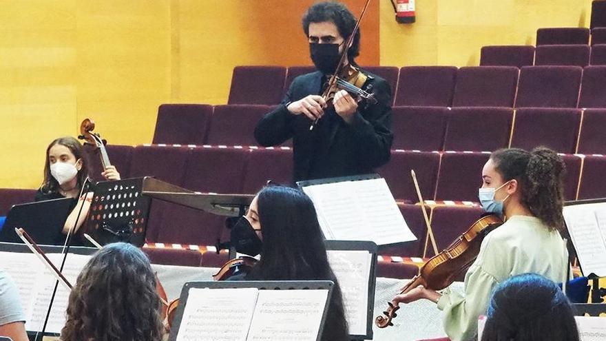 Los estudiantes de música aprenden con la Orquesta de Córdoba