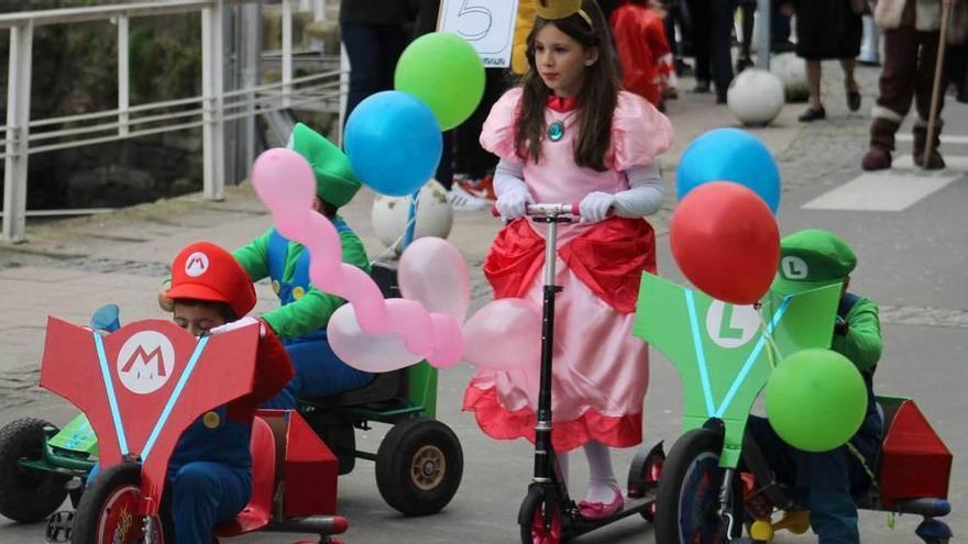 Cudillero dedica sus fiestas de Carnaval a los cuentos infantiles
