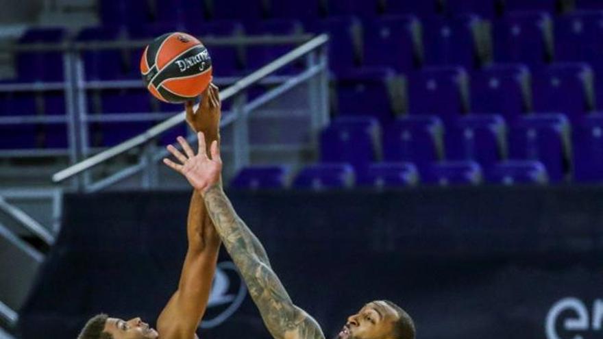 Euroliga: Real Madrid - Valencia Basket, en imágenes