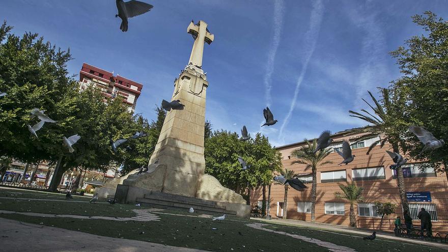 La Cruz de los Caídos de Elche, un símbolo controvertido