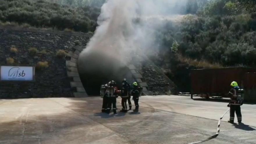 Bomberos del Consorcio Provincial de Zamora se forman en rescate dentro de túneles