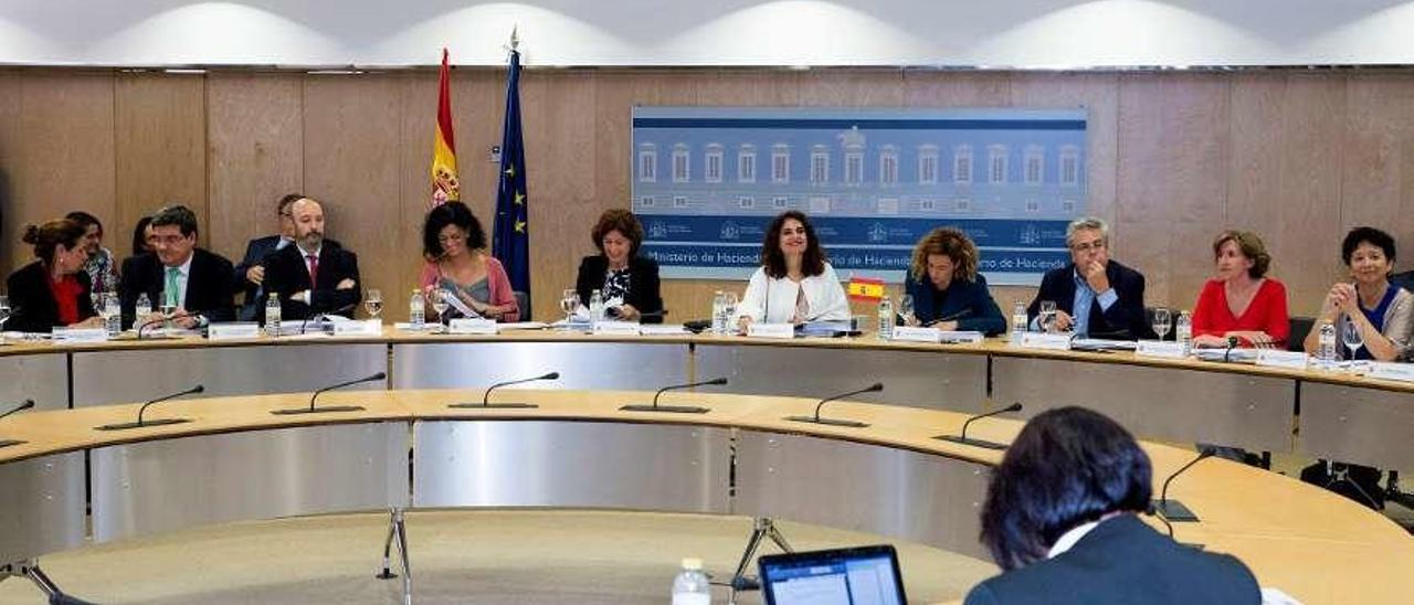 Última reunión del Consejo de Política Fiscal y Financiera, en julio de 2018. // Efe