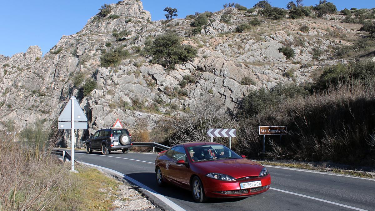 Paso de Las Angosturas por Priego de Córdoba.
