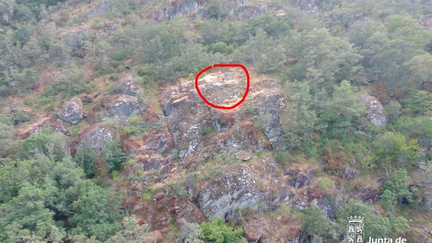 Socorren a una senderista herida en la cascada de Sotillo