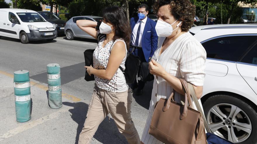 Juana Rivas sale del Centro de Inserción y cumplirá condena en su casa