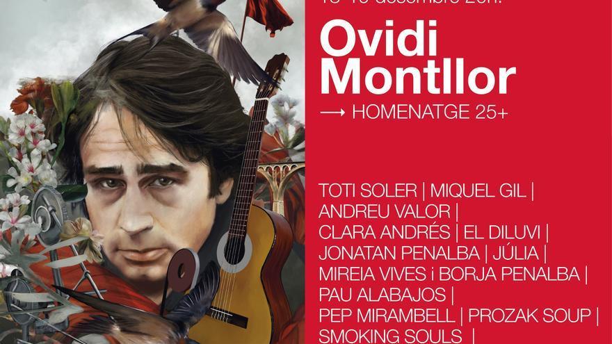 Cinco conciertos homenajearán a Ovidi Montllor en València, Castelló, Alicante y Alcoi