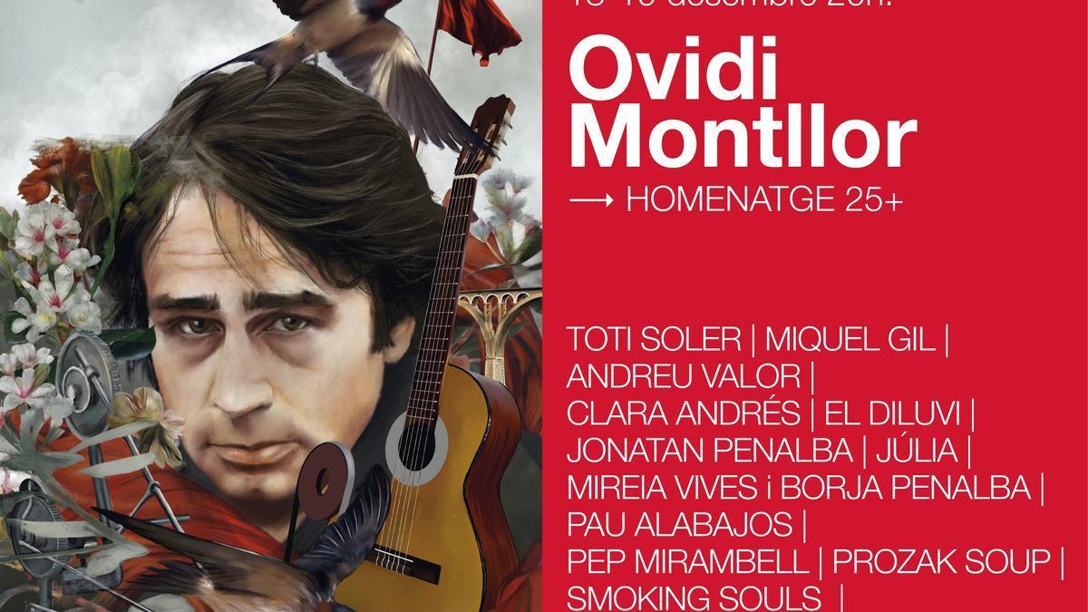 Cinco conciertos homenajearán a Ovidi Montllor en València, Castelló, Alicante y Alcoy