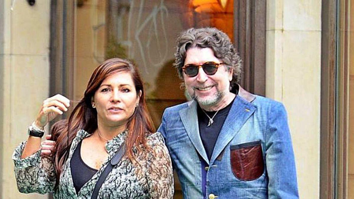 Joaquín Sabina y Jimena Coronado en una foto de archivo.