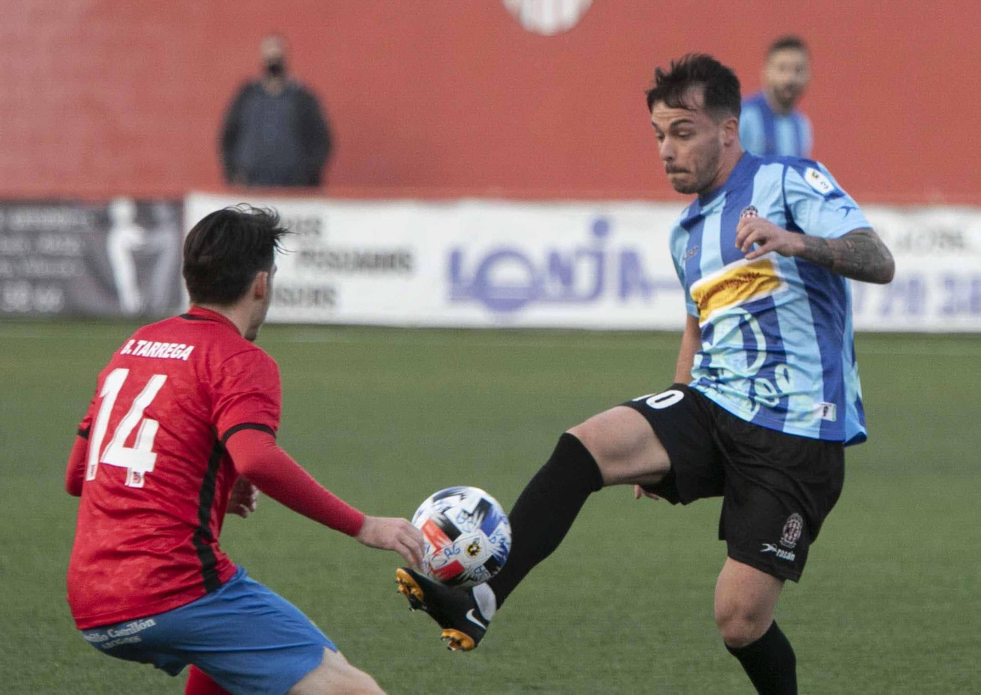 Empate entre el Atlético Saguntino y el CD Acero, en un inusual  derbi, con el Saguntino como local en el Fornás.