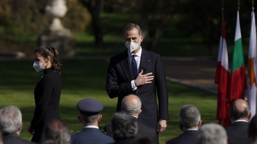 Directo | Felipe VI y Letizia presiden el homenaje a las víctimas del terrorismo por el 11M
