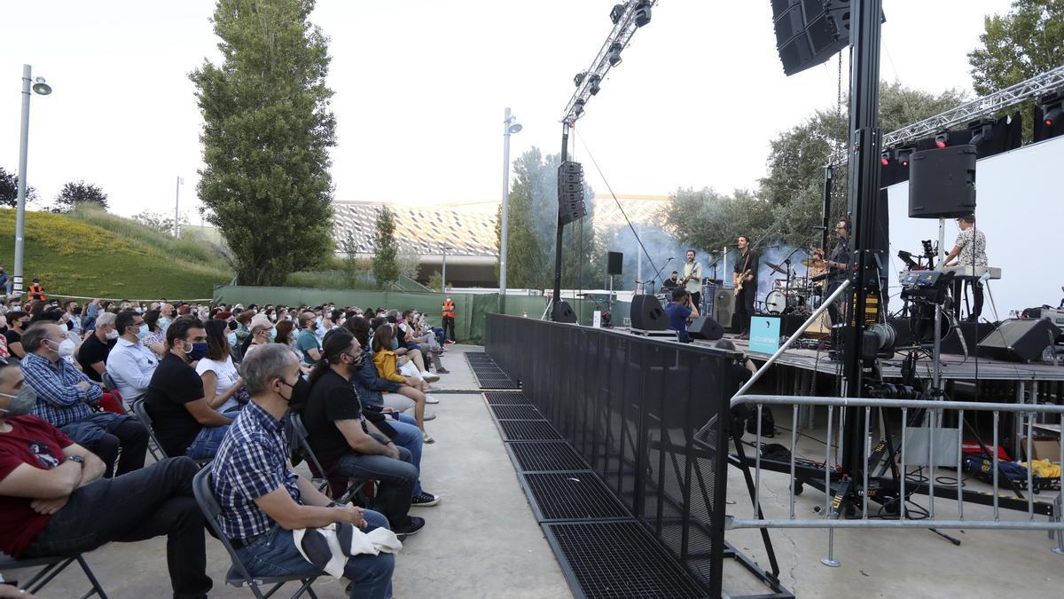 Los conciertos se están reactivando en Zaragoza.