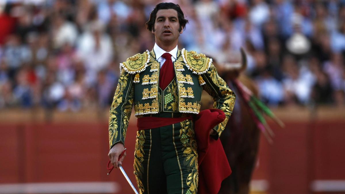 Morante de la Puebla, durante un festejo taurino.