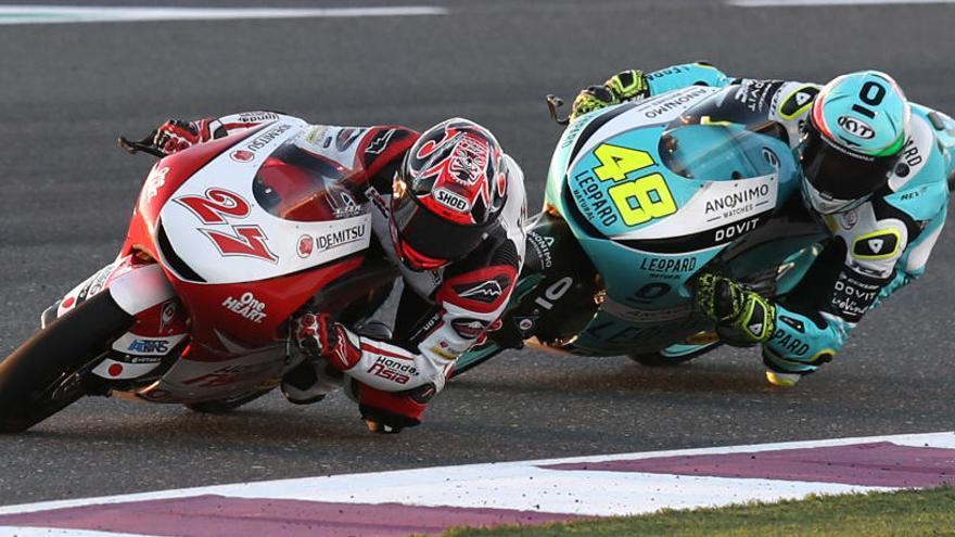 Kaito Toba s'imposa al GP de Qatar de Moto3