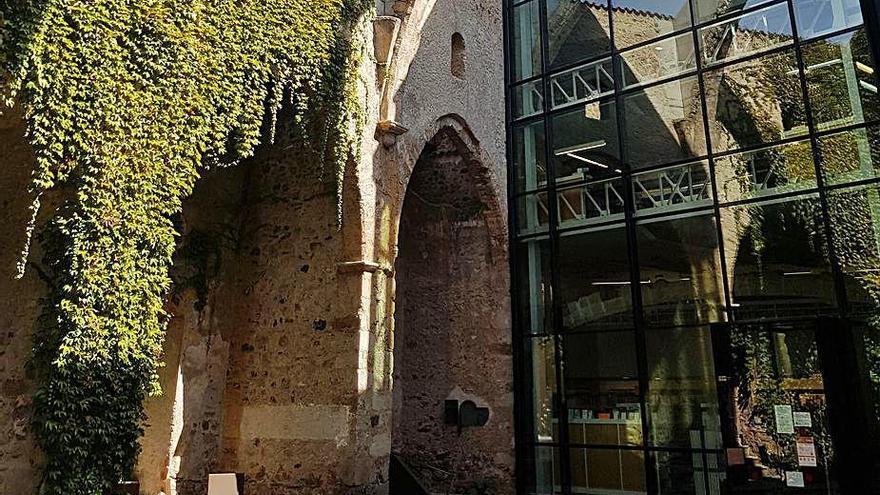 La biblioteca Sant Agustí tancarà demà les portes per renovar les instal·lacions