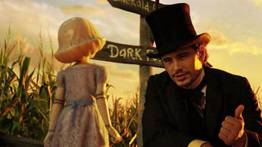 'Oz, un mundo de fantasía': Sin la magia de antaño