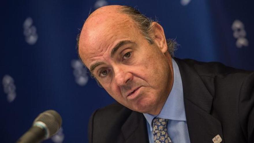 Guindos explica hoy el caso Soria en Comisión evitando el Pleno del Congreso