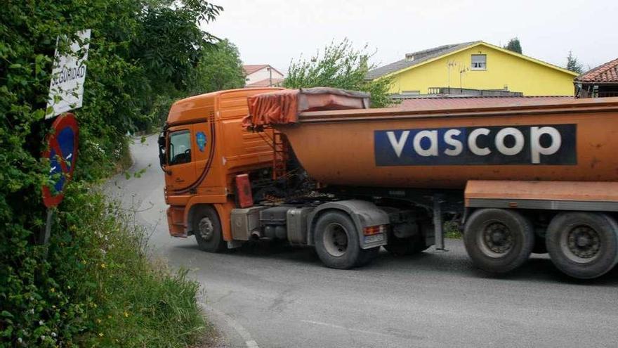 Llanera rechazará que el tráfico pesado del que se liberará a Cayés se desvíe a Ables