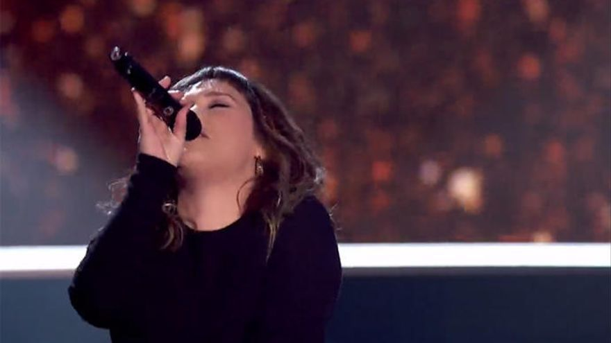 Lia Kali impresiona con su voz en 'Los Asaltos' de 'La Voz'