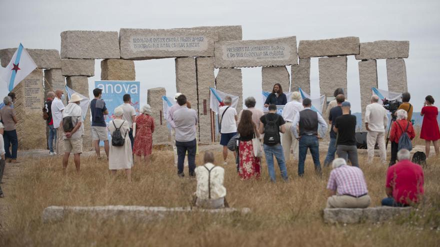 Anova celebra el Día de Galicia en el campo da Rata