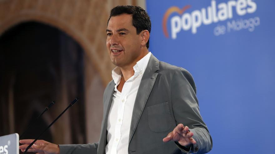 Juanma Moreno optará a la reelección al frente del PP de Andalucía