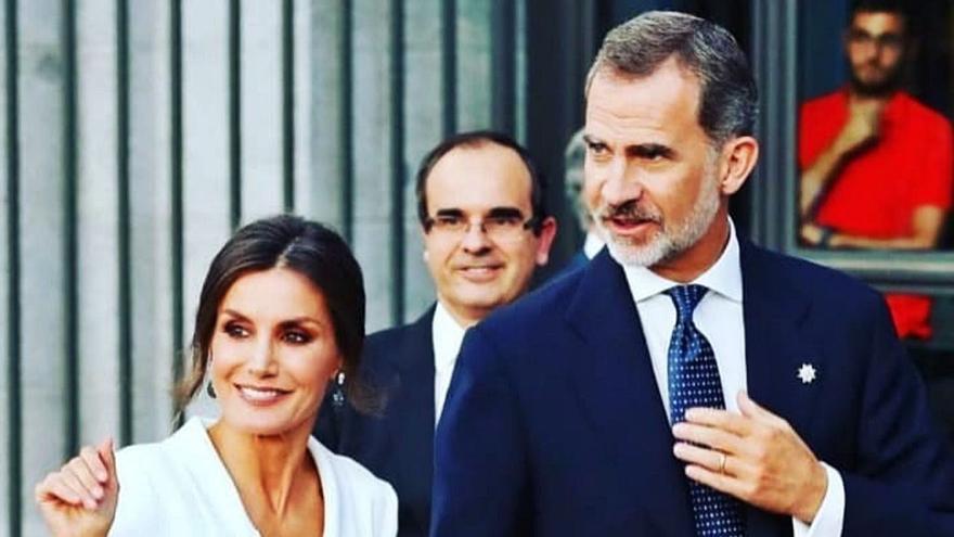 """Alfredo Martínez Serrano, el ovetense jefe de protocolo de la Casa del Rey, """"un buen paisano"""" al servicio de las personas"""