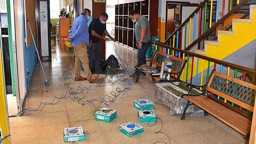 El Rosario dedica 70.000 euros a mejorar los colegios rosarieros