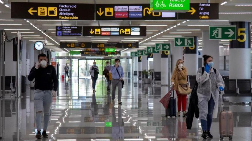 94,1 Prozent weniger Balearen-Urlauber aus dem Ausland im September