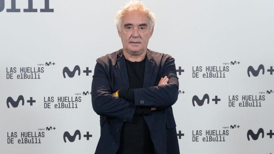 """Movistar+ repasa la vida de Ferran Adrià en 'Las huellas de elBulli': """"Es un retrato con muchas caras"""""""