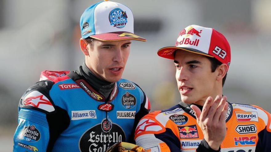 Honda confirma que Álex Márquez será el compañero de su hermano Marc