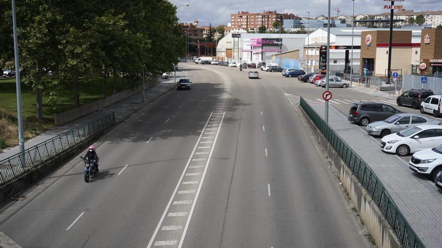 Menos tráfico y más aceras en la calle de Villalpando de Zamora