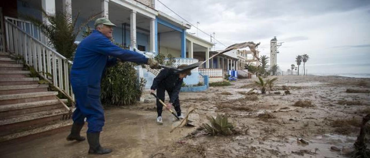 Los daños por el temporal en dotaciones  turísticas alcanzan 1,2 millones en Castelló