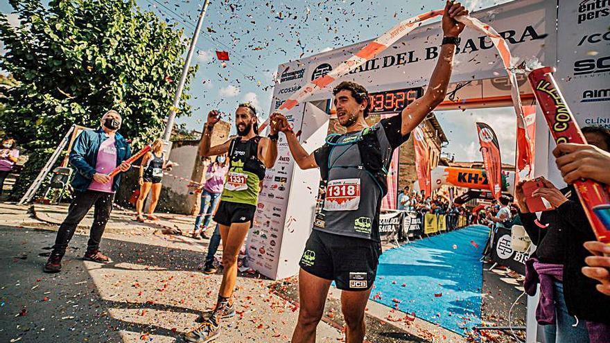 El corredor de Cabrianes Lluís Ruiz entra primer al Bisaura
