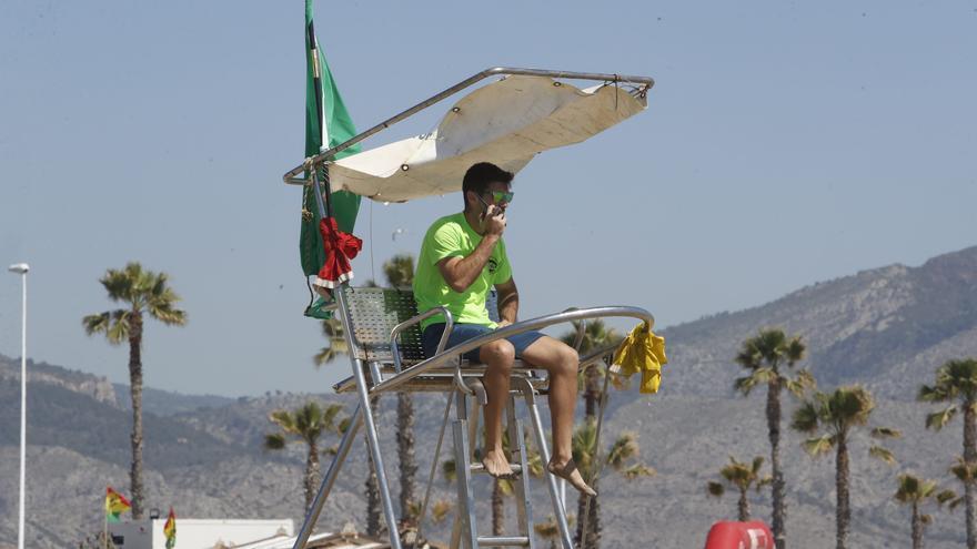 Más socorristas en las playas de Castelló a partir del sábado 12