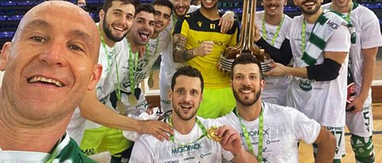 Segunda Copa de Europa para Toni Pérez, con el Sporting de Portugal