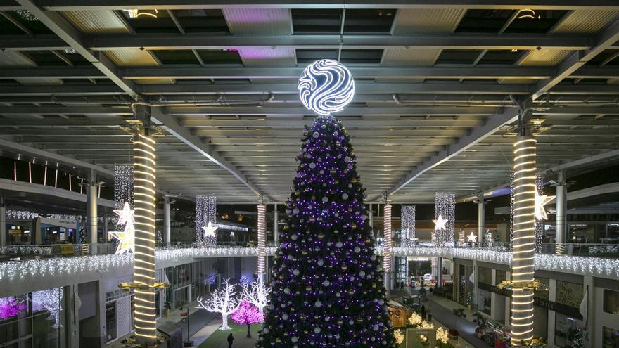Alisios enciende la ilusión de la Navidad